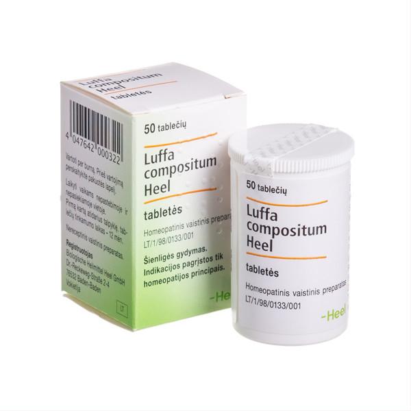 LUFFA COMPOSITUM HEEL, tabletės, N50  paveikslėlis