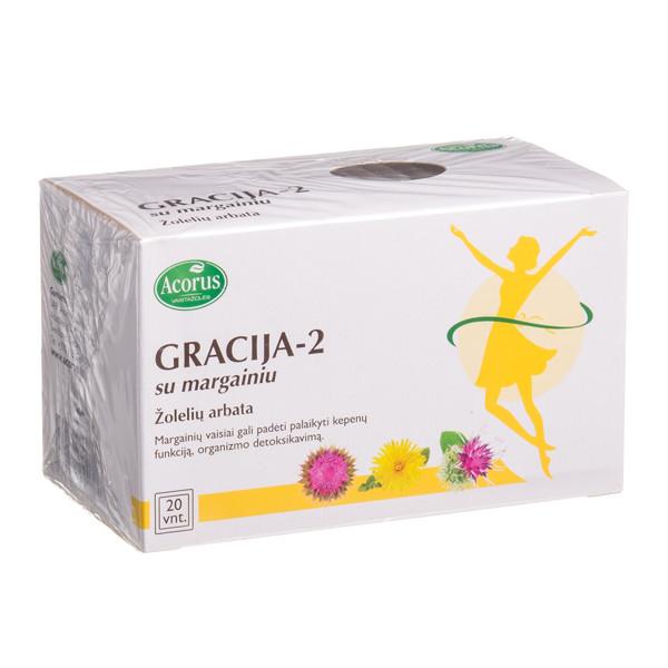 ACORUS GRACIJA-2, su margainiu, 2 g, 20 vnt. paveikslėlis