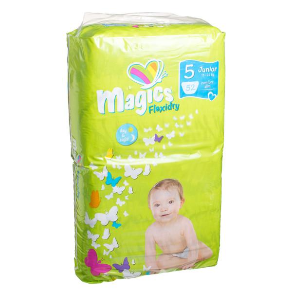 MAGICS FLEXIDRY sauskelnės JUNIOR, 11-25 kg, 52 vnt. paveikslėlis
