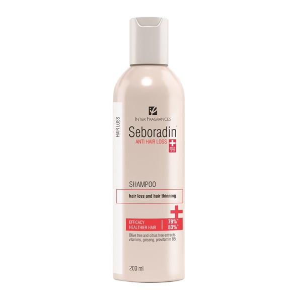SEBORADIN, šampūnas nuo plaukų slinkimo, 200 ml paveikslėlis
