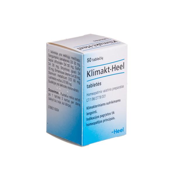 KLIMAKT-HEEL, tabletės, N50 paveikslėlis