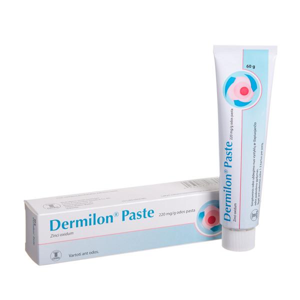 DERMILON PASTE, 220 mg/g, odos pasta, 60 g  paveikslėlis