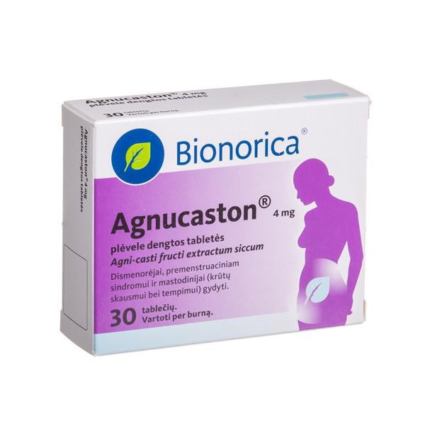 AGNUCASTON, 4 mg, plėvele dengtos tabletės, N30  paveikslėlis