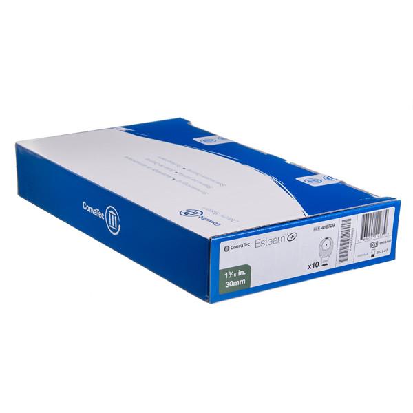 ESTEEM+, išmatų rinktuvų maišeliai, atviri, 30 mm, su filtru vienos dalies ir paslėptu dvigubu užsegimu, 10 vnt.  paveikslėlis