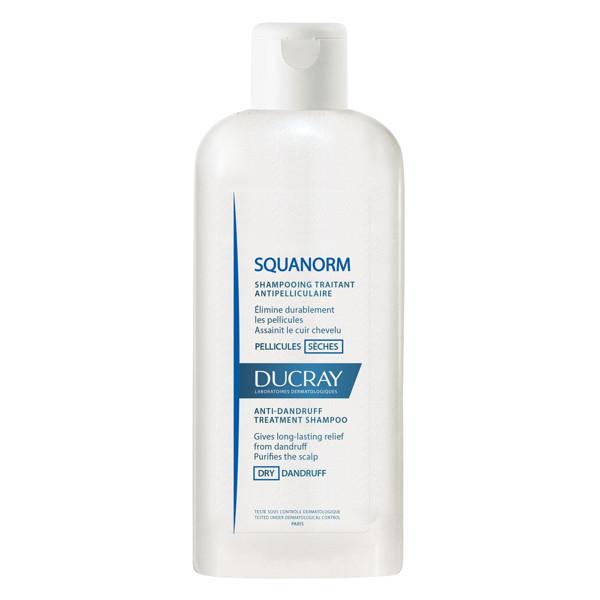 DUCRAY SQUANORM, šampūnas nuo sausų pleiskanų, 200 ml paveikslėlis