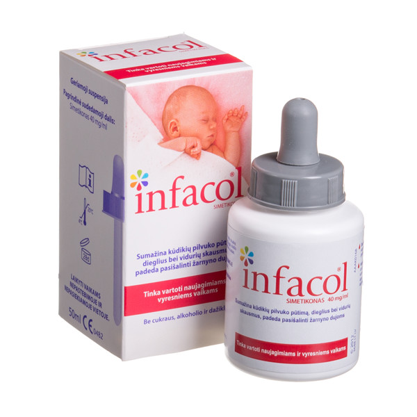 INFACOL, geriamoji suspensija, 50 ml paveikslėlis