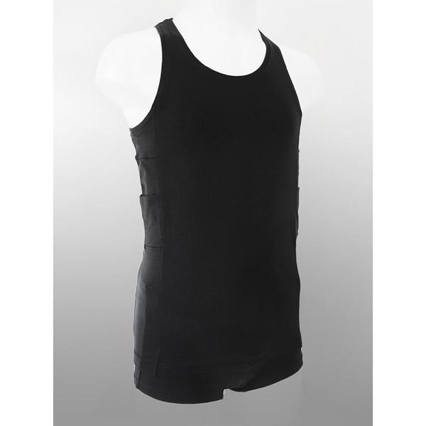 ANNAPS vaikiški marškinėliai su kišenėmis insulino pompai, juoda, 3-4 m., 1 vnt. paveikslėlis