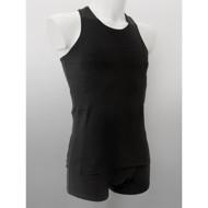 ANNAPS vyriški marškinėliai su kišenėmis insulino pompai, juoda, XS, 1 vnt. paveikslėlis