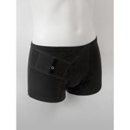 ANNAPS vyriški šortukai / trumpikės su kišene insulino pompai,  juoda, L, 1 vnt paveikslėlis