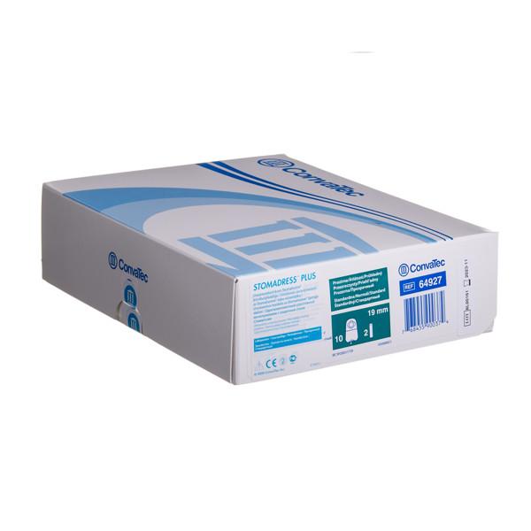 CONVATEC STOMADRESS PLUS, urostominiai maišeliai, 19 mm, 1 dalies iškirpta anga, 10 vnt. paveikslėlis