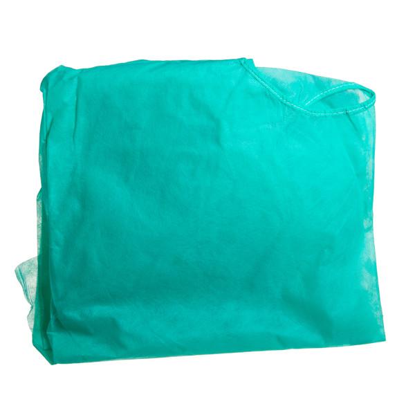 Nesterilus apžiūros chalatas, L, žalias paveikslėlis