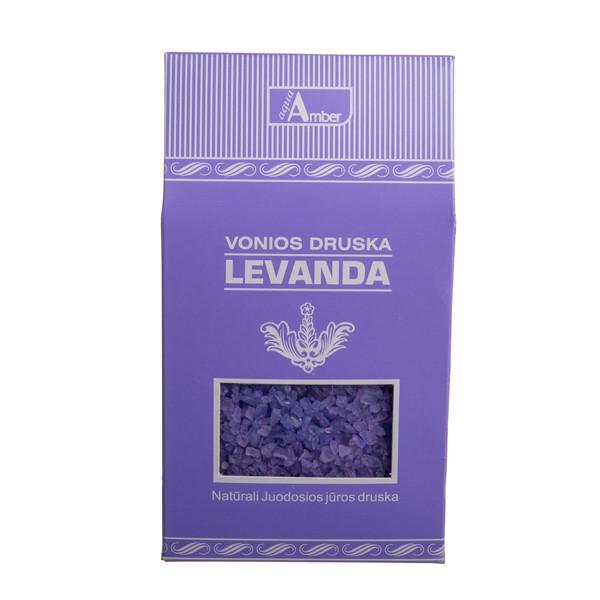 AQUA AMBER LEVANDA, druska voniai, 500 g paveikslėlis