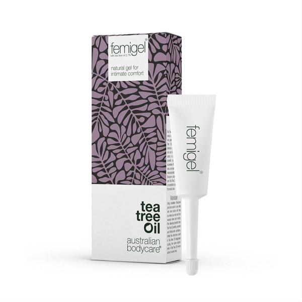 AUSTRALIAN BODYCARE TEA TREE OIL FEMIGEL, natūralus gelis intymiam išorinių moters lytinių organų komfortui palaikyti, 5 x 5 ml, 5 vnt. paveikslėlis