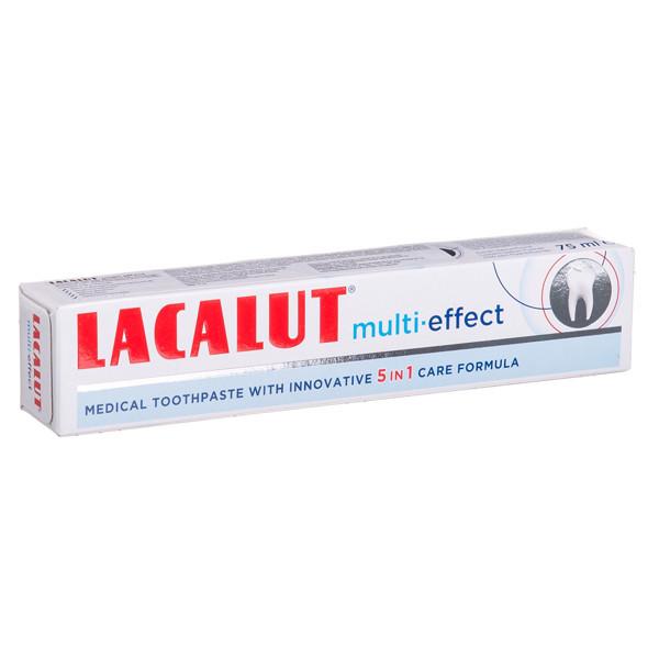 LACALUT MULTI-EFFECT, dantų pasta, skirta visai šeimai, 75 ml paveikslėlis