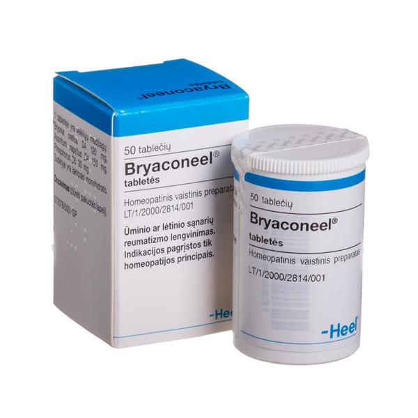 BRYACONEEL, tabletės, N50  paveikslėlis