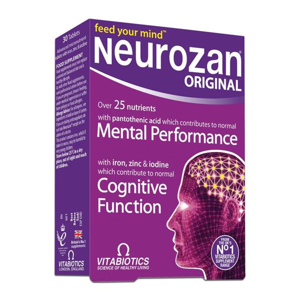NEUROZAN, 30 tablečių paveikslėlis