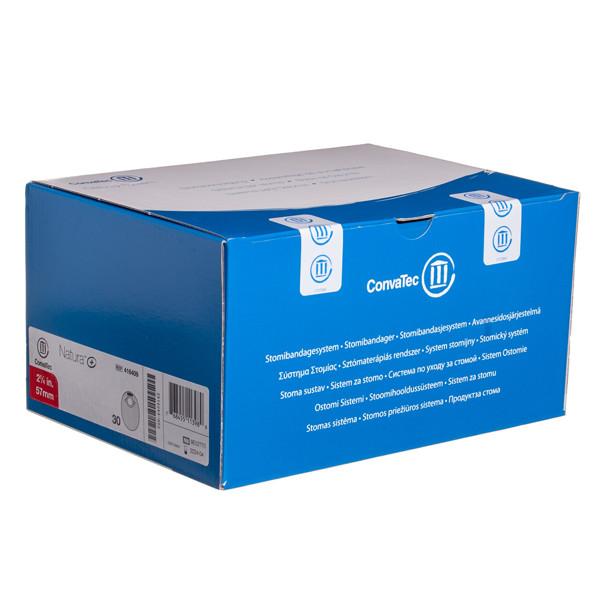 CONVATEC NATURA+, išmatų rinktuvų uždari maišeliai su filtru, 57 mm, 30 vnt.  paveikslėlis