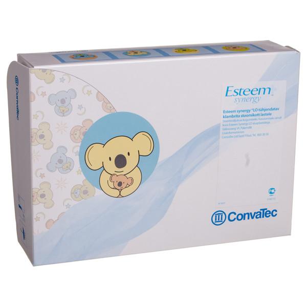 ESTEEM+ SYNERGY, išmatų rinktuvų atviri maišeliai su filtru vaikiški, lipnus užsegimas, 10 vnt. paveikslėlis