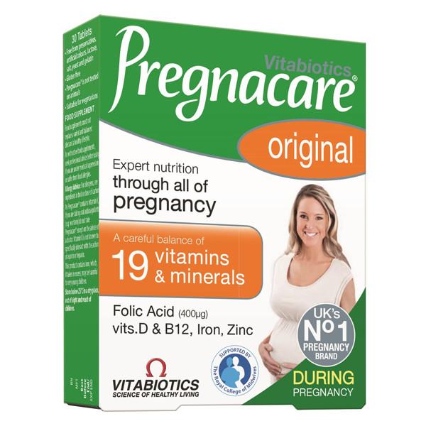 PREGNACARE, 30 tablečių paveikslėlis
