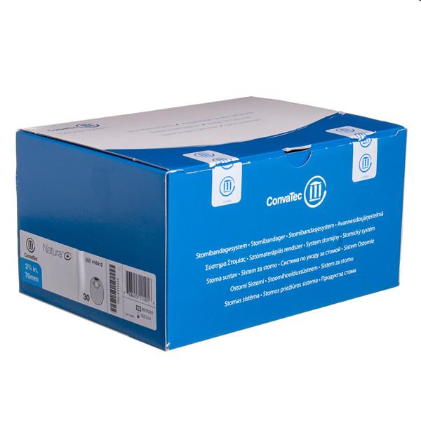CONVATEC NATURA+, išmatų rinktuvų uždari maišeliai su filtru, 70 mm, 30 vnt.  paveikslėlis