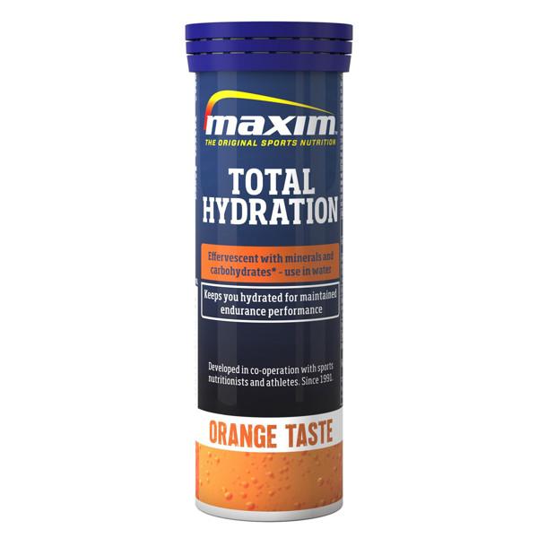 MAXIM TOTAL HYDRATION, apelsinų skonio, 10  tirpiųjų tablečių paveikslėlis