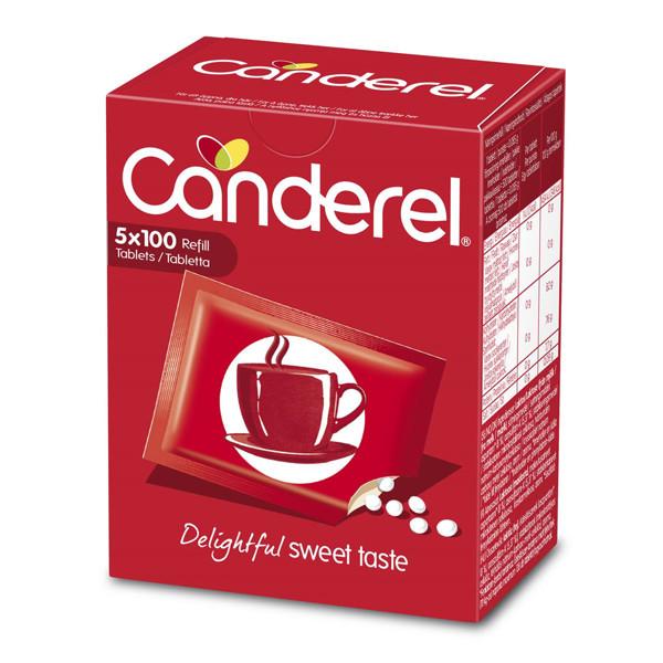 CANDEREL ASPARTAM, saldiklis, 500 tablečių paveikslėlis