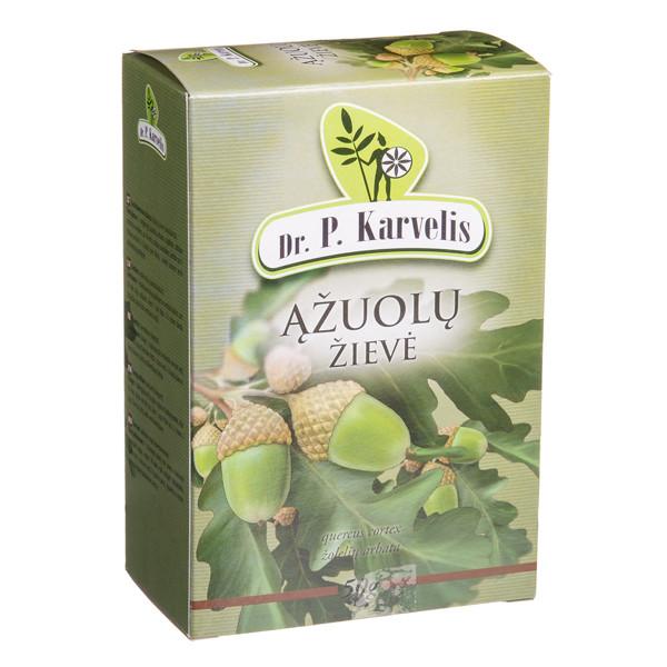 DR. P. KARVELIS ĄŽUOLŲ ŽIEVĖ, žolelių arbata, 50 g paveikslėlis