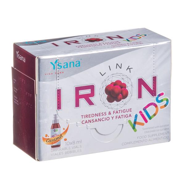 IRONLINK KIDS, 10 mg, 8 ml, 10 vnt. paveikslėlis