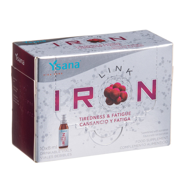 IRONLINK, 14 mg, 8 ml, 10 vnt. paveikslėlis