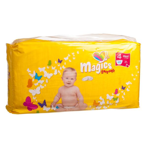 MAGICS EASYSOFT sauskelnės MAXI, 7-18 kg, 48 vnt.  paveikslėlis