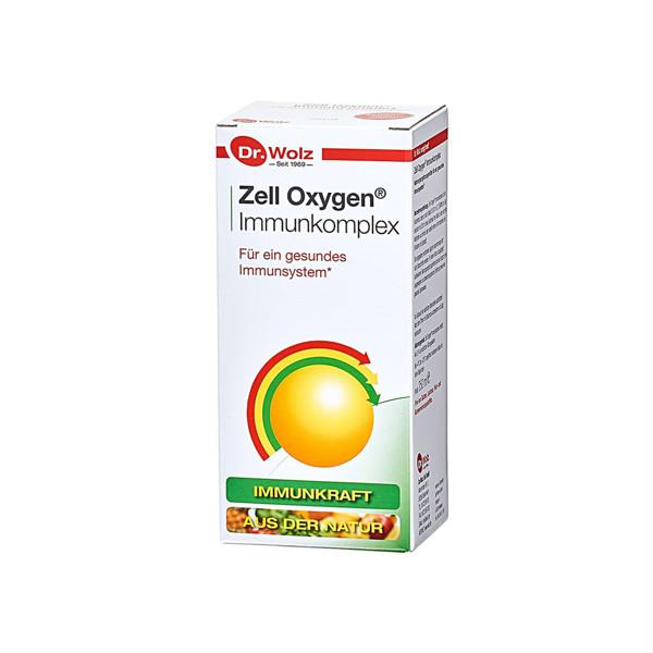DR. WOLZ ZELL OXYGEN IMMUNKOMPLEX, 250 ml paveikslėlis