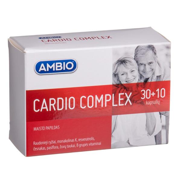 AMBIO CARDIO COMPLEX, 30 + 10 kapsulių paveikslėlis