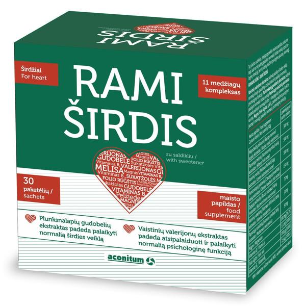 RAMI ŠIRDIS, 30 paketėlių paveikslėlis
