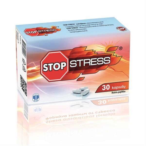 BF-ESSE STOP STRESS, 30 kapsulių paveikslėlis