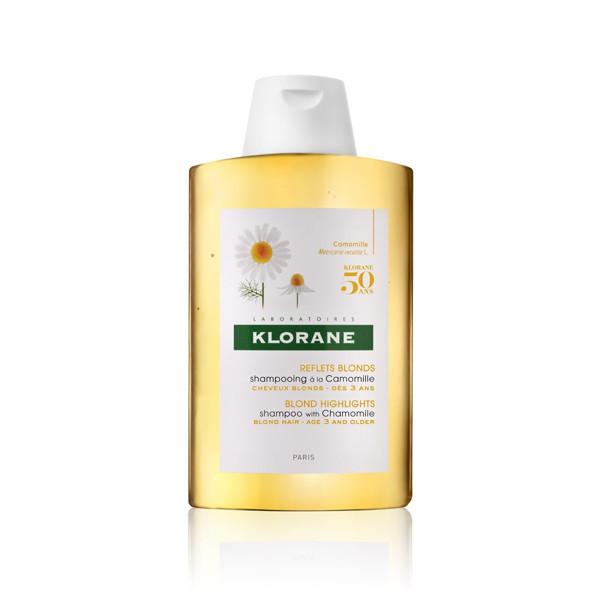 KLORANE CHAMOMILE, šampūnas šviesiems plaukams su ramunėlių ekstraktu, 200 ml paveikslėlis