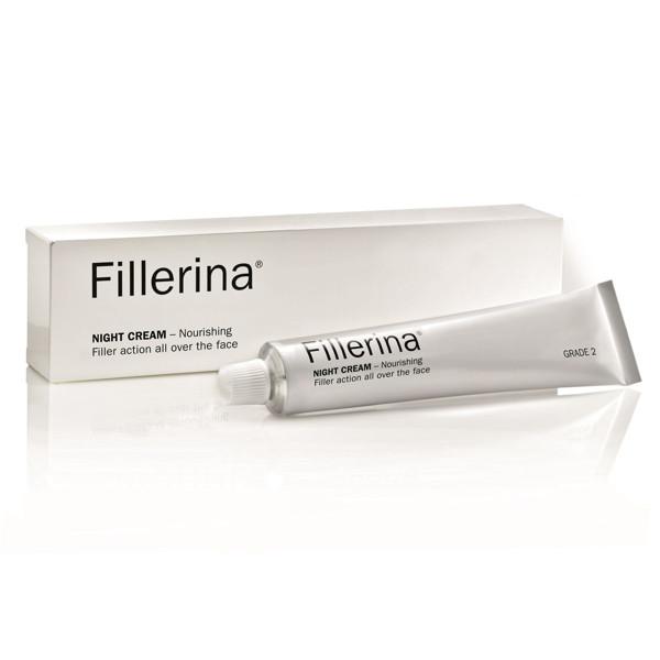 FILLERINA, naktinis kremas su 6 hialurono rūgštimis, 2 lygis, 50 ml paveikslėlis