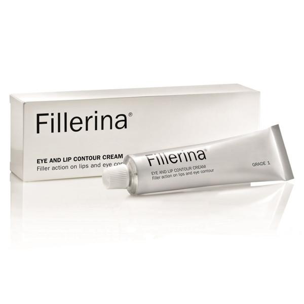 FILLERINA, paakių ir lūpų kremas su 6 hialurono rūgštimis, 1 lygis, 15 ml paveikslėlis