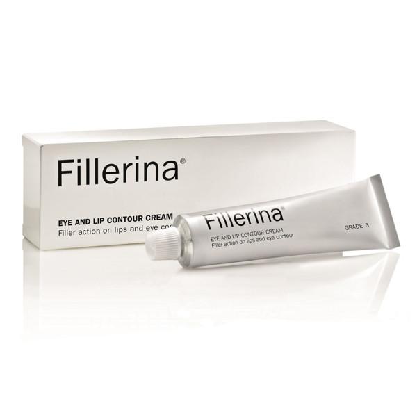 FILLERINA, paakių ir lūpų kremas su 6 hialurono rūgštimis, 3 lygis, 15 ml paveikslėlis