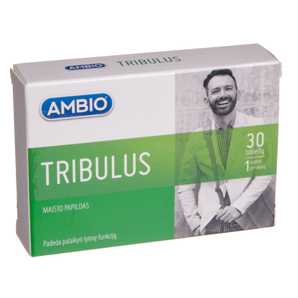 AMBIO TRIBULUS, 30 tablečių paveikslėlis