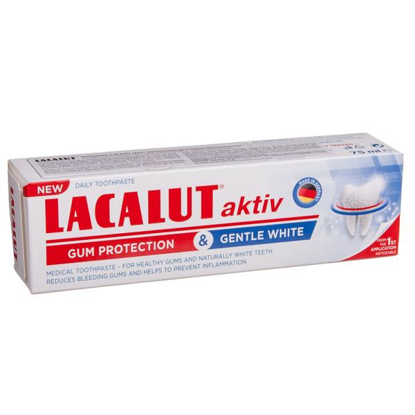 LACALUT ACTIV, dantų pasta, dantenų apsauga ir švelnus balinimas, 75 ml paveikslėlis