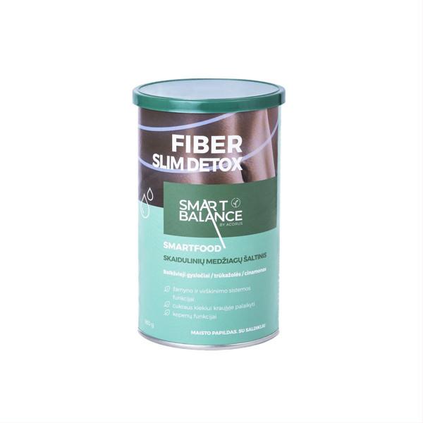ACORUS SMART BALANCE FIBER SLIM DETOX, milteliai, 180 g paveikslėlis