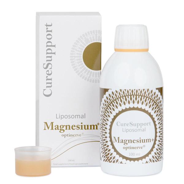 CURESUPPORT liposominis Magnesium + Optinerve®, 100 ml paveikslėlis