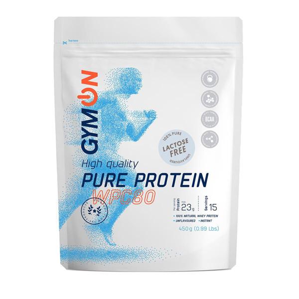 GYMON, natūralaus skonio baltymų kokteilis, be laktozės, 450 g paveikslėlis