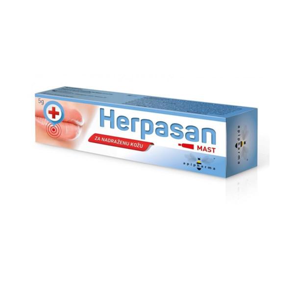 HERPASAN lūpų tepalas, 5g paveikslėlis