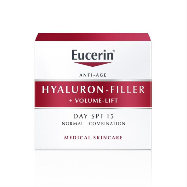 EUCERIN HYALURON - FILLER + VOLUME - LIFT, dieninis kremas normaliai ir mišriai odai, 50 ml paveikslėlis
