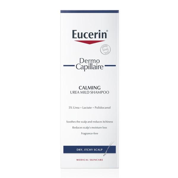 EUCERIN DERMOCAPILLAIRE, šampūnas sausai galvos odai su 5% šlapalu, 250 ml paveikslėlis