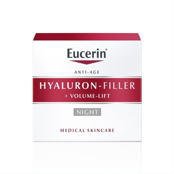 EUCERIN HYALURON - FILLER + VOLUME - LIFT, naktinis kremas, 50 ml paveikslėlis