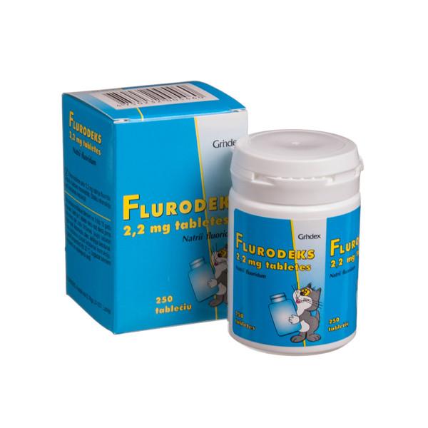 FLURODEKS, 2,2 mg, tabletės, N250  paveikslėlis
