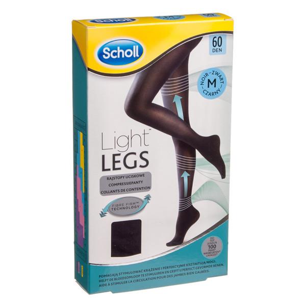 SCHOLL LIGHT LEGS M, juodos kompresinės pėdkelnės, 60 DEN paveikslėlis