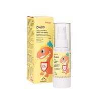 NORDAID D400 BABIES, purškiamas vitaminas D3, 400IU, 30ml, 200 papurškimų paveikslėlis
